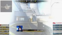 s1mple taking his hands off the keyboard during a match