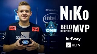 NiKo's best actions from ESL One Belo Horizonte 2018
