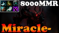 Dota 2 - Miracle- 8000MMR Plays Shadow Fiend vol 10 - Ranked Match Gameplay