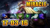 Miracle- Dota 2 - 8000 MMR Invoker Full GamePlay POV