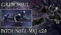 [Grim Soul] Patch note MàJ 1.2.0 Ep.38