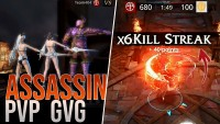 ASSASSIN PVP 10 3v3 GVG with Team404 - 2M5 power ( Darkness Rises FR ) +  NCS SOUND + TRAP NATION
